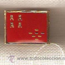 Pins de colección: LOTE 38 BANDERITAS TIPO PIN MURCIA. Lote 16954324