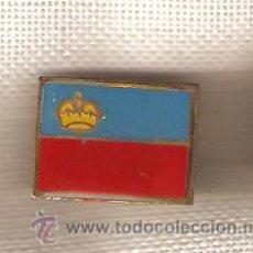 Pins de colección: LOTE DE 28 BANDERITAS TIPO PIN LIECHTENSTEIN. Lote 16954404