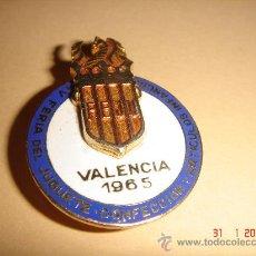Pins de colección: PIN IV FERIA DEL JUGUETE DE VALENCIA DE 1965. MUY DIFICIL!!!!.PIN. Lote 26378339