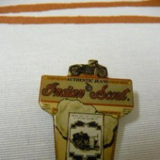 Pins de colección: PIN/AGUJA JEANS INDIAN SCOUT. Lote 17459657