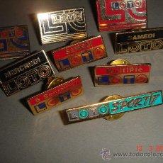 Pins de colección: LOTE PINS LOTTO. ENC. Lote 26899690