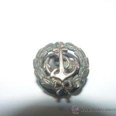 Pins de colección: ANTIGUA INSIGNIA DE SOLAPA DE PLATA. Lote 24658901