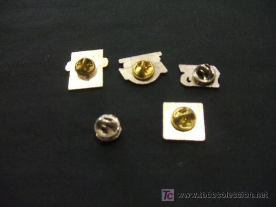 Pins de colección: LOTE 5 PINS - - Foto 2 - 19724542