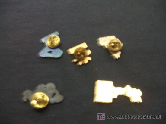 Pins de colección: LOTE 5 PINS - - Foto 2 - 19724627