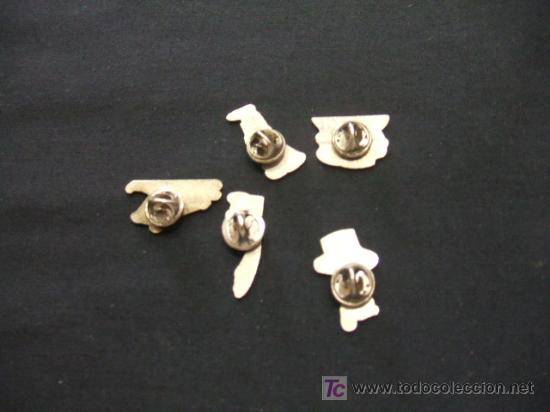 Pins de colección: LOTE 5 PINS - - Foto 2 - 19787405