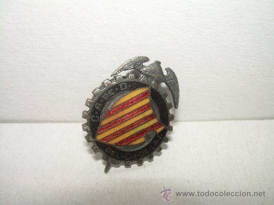 Pins de colección: ANTIGUA INSIGNIA...(ESMALTADA).....C..A. de. D - Foto 3 - 20061052