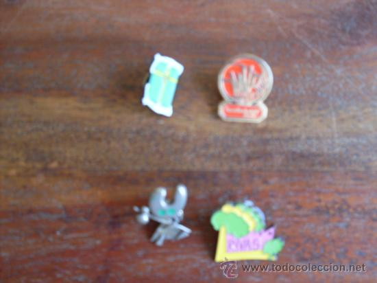 LOTE DE 4 PINS DIFERENTES (Coleccionismo - Pins)