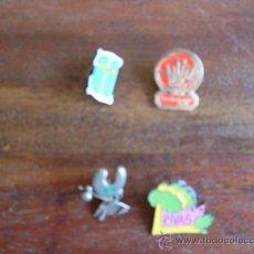 Pins de colección: LOTE DE 4 PINS DIFERENTES. Lote 24587713
