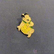 Pins de colección: PIN PEDRO PICAPIEDRA LOS PICAPIEDRA. Lote 21381963