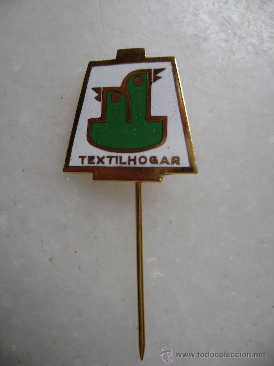 PIN FERIA MUESTRAS DE VALENCIA.TEXTIL HOGAR.PIN074 (Coleccionismo - Pins)