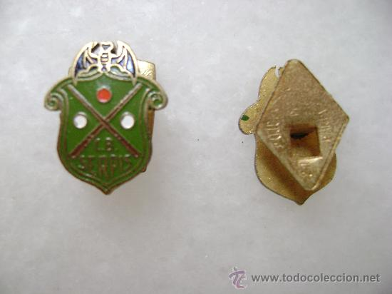 PIN CLUB BILLAR SERPIS.ALCOY.PIN112 (Coleccionismo - Pins)