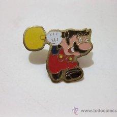 Pins de colección: PIN MARIO BROS MAZO - C 1988 NINTENDO OF AMERICA INC. Lote 23876645