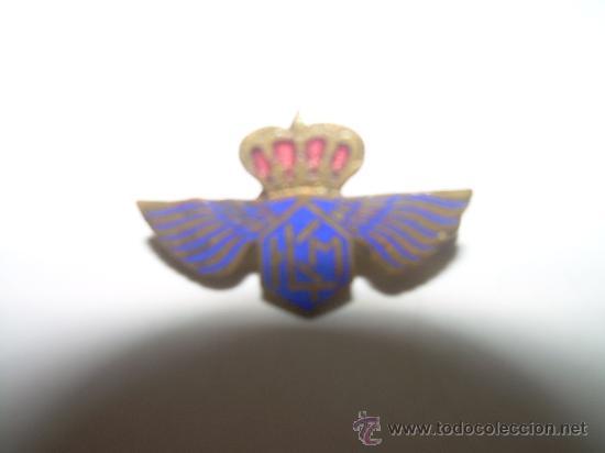 Pins de colección: ANTIGUA INSIGNIA ESMALTADA.........K.L.M. - Foto 2 - 27142170