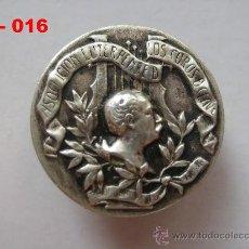 Pins de colección: PIN - INSIGNIA DE SOLAPA ASOCIACIÓN EUTERPENSE DE COROS DE CLAVÉ (PLATA). ENVÍO GRATUITO. Lote 27582000