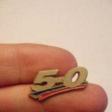Pins de colección: PIN 5-0 BARÇA - REAL MADRID. ES DE CLIP PINCHO. Lote 206769383