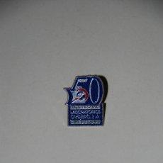 Pins de colección: PIN 50 ANIVERSARIO LABORATORIOS OVEJERO. Lote 25335361