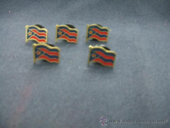LOTE 5 PINS - (Coleccionismo - Pins)
