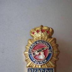 Pins de colección: PIN .ATRACOS. CUERPO NACIONAL DE POLICIA..... ENVIO GRATIS¡¡¡. Lote 27660101