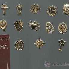 Pins de colección: SEMANA SANTA PRECIOSA COLECCION DE PINS BAÑO DE ORO DE LAS COFRADIAS DE ZAMORA. Lote 94156112