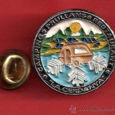 Pins de colección: UN PIN DE MODERNO DE LA CERDANYA CAMPING PRULLANS RES AURANT. Lote 29065659