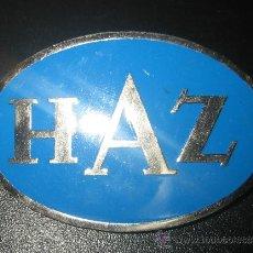 Pins de colección: INSIGNIA DE LA ASOCIACION HAZ. Lote 29580505