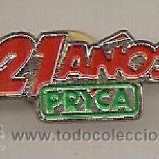 Pins de colección: PRYCA. Lote 29585525