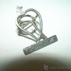 Pins de colección: ANTIGUA INSIGNIA...DE PLATA....DEHESA DE RODASVIEJAS......TOROS BRAVOS...AÑOS 60. Lote 29872850