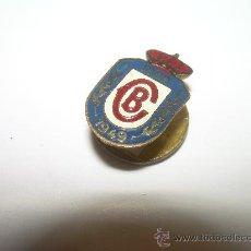 Pins de colección: ANTIGUA INSIGNIA....CB...1899 - 1949. Lote 30152894