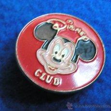 Pins de colección: PIN CLUB DISNEY-PROGRAMA DE TVE DE LA DECADA 1990 AL 1998-DIFICIL DE CONSEGUIR. Lote 30323033