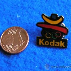 Pins de colección: PIN KODAK PATROCINADOR OFICIAL DE LAS OLIMPIADAS-BARCELONA 1992. Lote 30324088