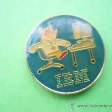 Pins de colección: COBI IBM REDONDO COLORES DE LAS OLIMPIADAS DE BARCELONA 92 . Lote 30402451