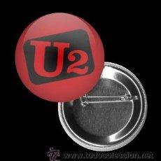 Pins de colección: CHAPA 32MM, U2, MUSICA. Lote 195064972
