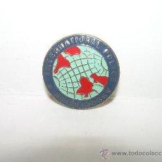 Pins de colección: ANTIGUA INSIGNIA......INTERPOL...........INTERNATIONAL POLICE ASSOCIATION.. Lote 30847573