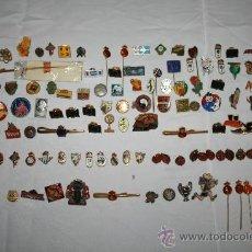 Pins de colección: PIN072 IMPRESIONANTE COLECCIÓN DE PINS DE LOS AÑOS 40 A 70 - PRINCIPALMENTE DE DEPORTES. Lote 32174137