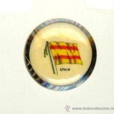 Pins de colección: ANTIGUO PIN DEL AÑO 1898, LA BANDERA DE ESPAÑA. INSIGNIA 22 MM. SWEET CAPORAL CIGARETTE - PINS SPAIN. Lote 32289457