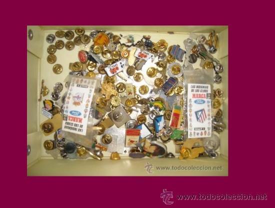 LOTE DE 100 PINS (Coleccionismo - Pins)