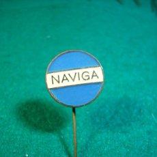 Pins de colección: ESCUDO DE SOLAPA AGUJA-PINS- NAVIGA. Lote 32490616
