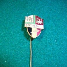Pins de colección: ESCUDO DE SOLAPA AGUJA-PINS- ANTVERPIA. Lote 32490704