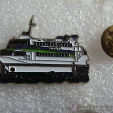 Pins de colección: PIN DE BARCOS. BARCO DE TRANSMEDITERRANEA. . Lote 114602844