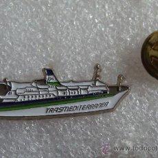 Pins de colección: PIN DE BARCOS. BARCO DE TRANSMEDITERRANEA. . Lote 33447267