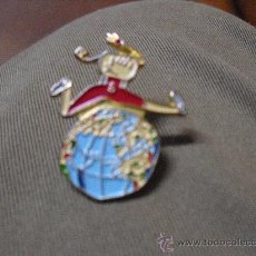 Pins de colección: PIN: PETRA MASCOTA PARAOLIMPICOS AÑO 1.992. Lote 34160284