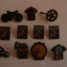 Pins de colección: SUPER LOTE 31 PINS CICLISMO: INDURAIN, TOUR DE FRANCIA.... Lote 5408244