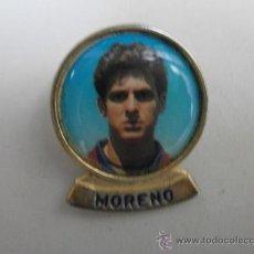 Pins de colección: PINS FUTBOL CLUB BARCELONA MORENO PINS-162. Lote 34671753