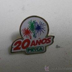 Pins de colección: PINS 20 AÑOS PRYCA PINS-220. Lote 34875063