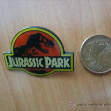 Pins de colección: PIN PELÍCULA JURASSIC PARK. Lote 34985191