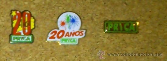 PIN PINS CARREFOUR PRYCA SUPERMERCADO HIPERMERCADO 20 AÑOS (Coleccionismo - Pins)