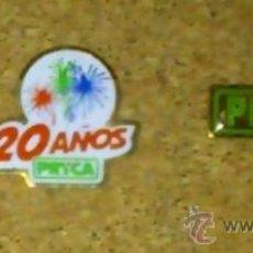 Pins de colección: PIN PINS CARREFOUR PRYCA SUPERMERCADO HIPERMERCADO 20 AÑOS. Lote 35517468