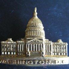 Pins de colección: CASA BLANCA .PIN O BROCHE DE SOLAPA. SOUVENIR WASHINGTON DC . 1ª MITAD S. XX.. Lote 35672794