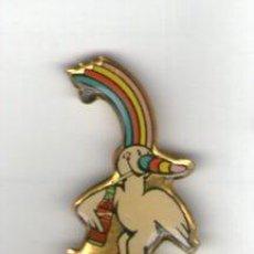 Pins de colección: PIN PUBLICIDAD COCA-COLA - EXPO. UNIVERSAL DE SEVILLA - CURRO. Lote 35797871