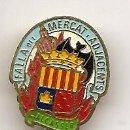 Pins de colección: FALLAS DE VALENCIA. INSIGNIA ESMALTADA ANTIGUA DE FALLA DE ALCASSER. Lote 40751461